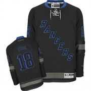 Reebok New York Rangers 18 Men's Marc Staal Black Ice Authentic NHL Jersey