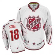 Reebok New York Rangers 18 Men's Marc Staal White Authentic 2011 All Star NHL Jersey